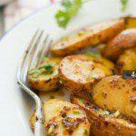 Острый запеченый картофель